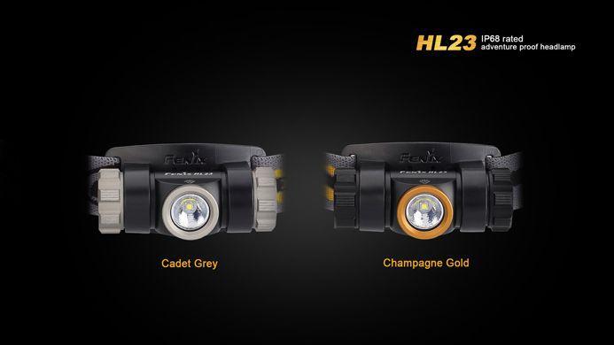Lanterna Fenix - HL23 Dourada - 150 Lúmens