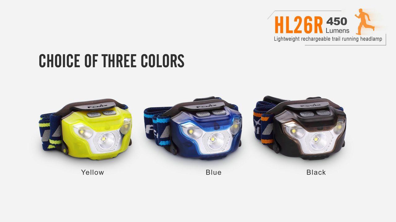 Lanterna Fenix - HL26R Azul - 450 Lúmens