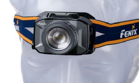 Lanterna Fenix HL40R Cinza 600 Lúmens