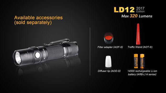 Lanterna Fenix LD12 2017 - 320 Lumens