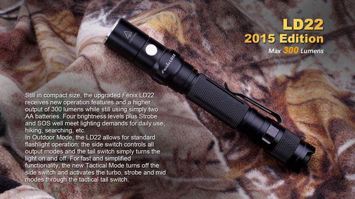 Lanterna Fenix LD22- 300 Lumens