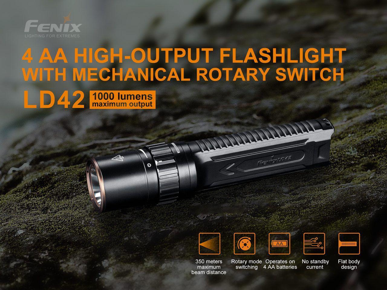 Lanterna Fenix LD42 - 1000 Lumens