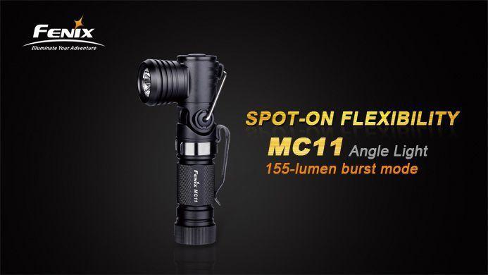 Lanterna Fenix MC11 - Versatilidade Com O Formato Em L - 155 Lumens