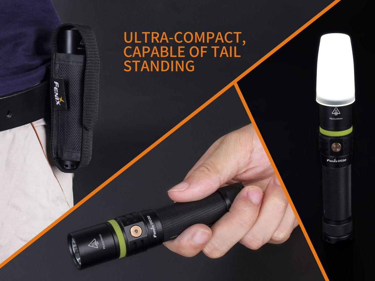 Lanterna Fenix - Modelo UC30 1000 Lumens