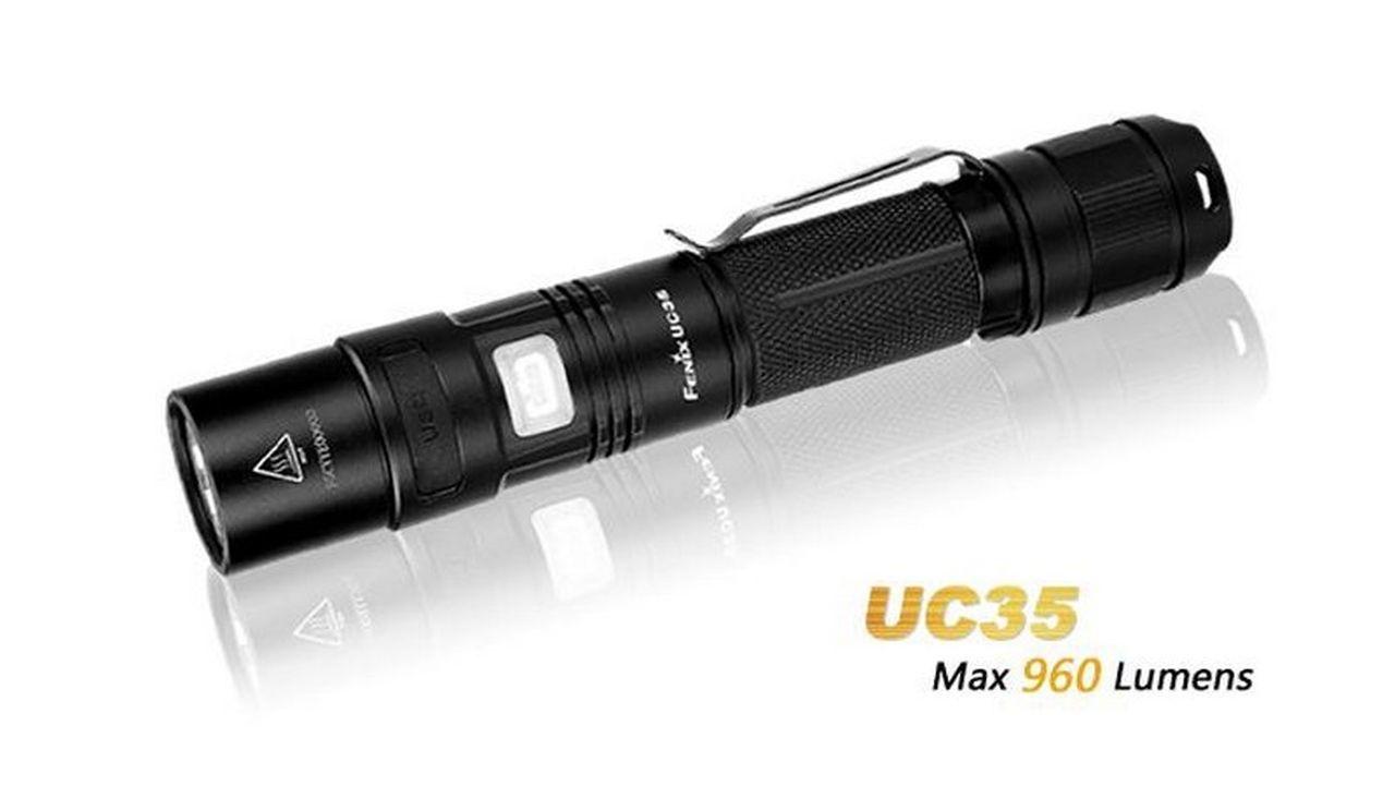 Lanterna Fenix - Modelo UC35 960 Lúmens