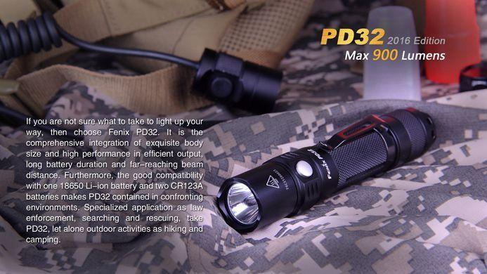 Lanterna Fenix PD32 - Alcance De Até 240m - 900 Lumens
