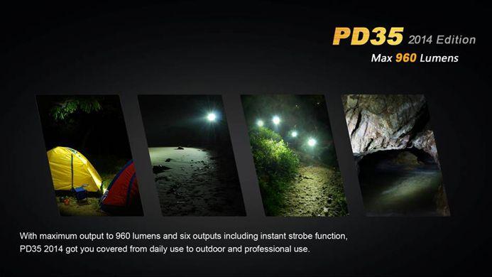Lanterna Fenix PD35 2014 - 960 Lúmens