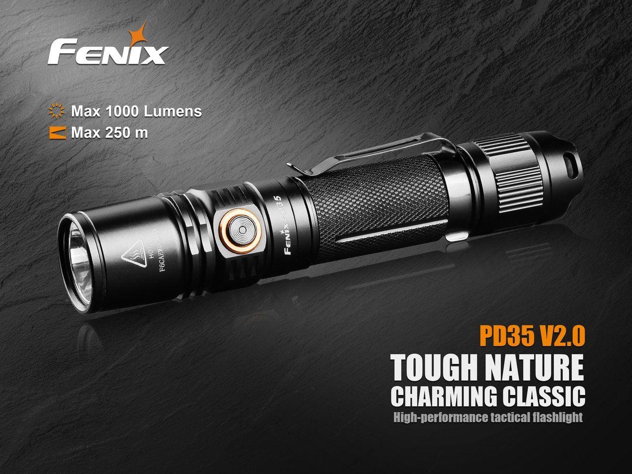 Lanterna Fenix PD35 V2.0 - 1000 lumens