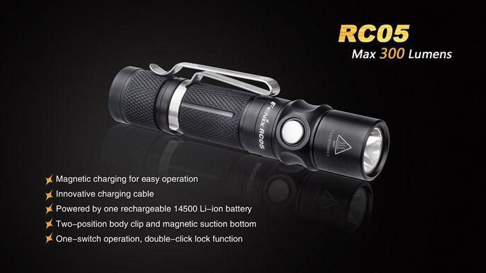 Lanterna Fenix RC05  - 300 Lúmens