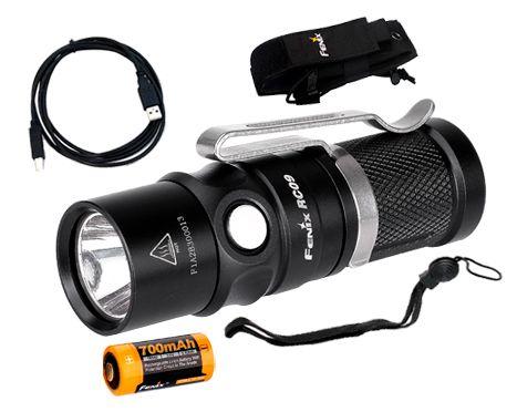 Lanterna Fenix RC09 - 550 Lúmens
