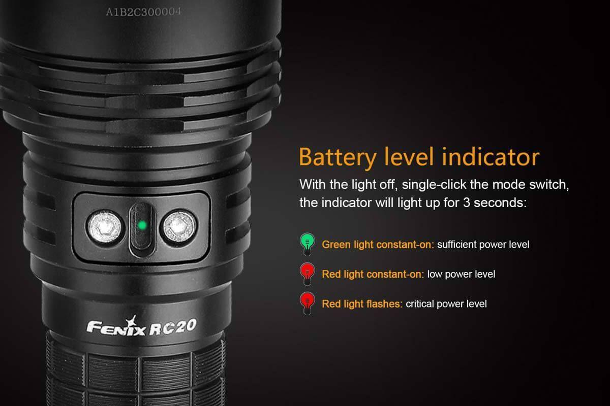 Lanterna Fenix RC20 - 1000 Lúmens