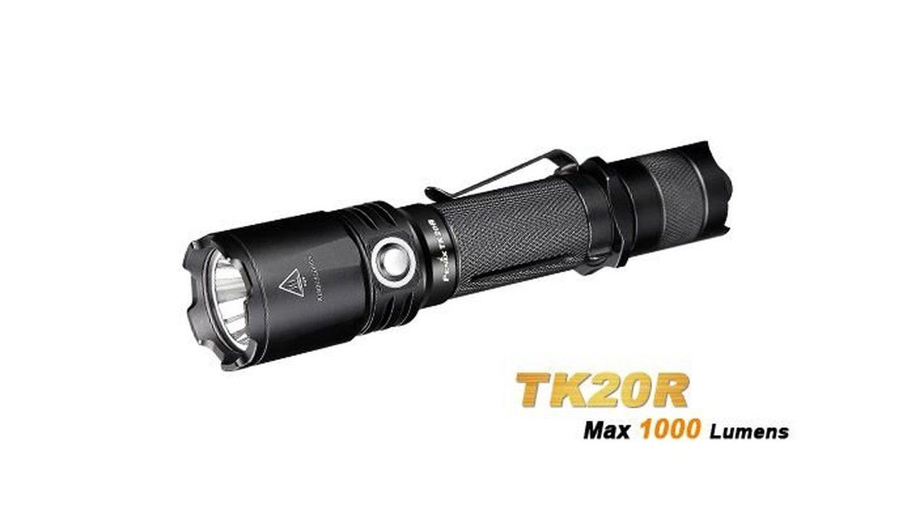 Lanterna Fenix TK20R 1000 Lúmens + CL05 8 Lúmens