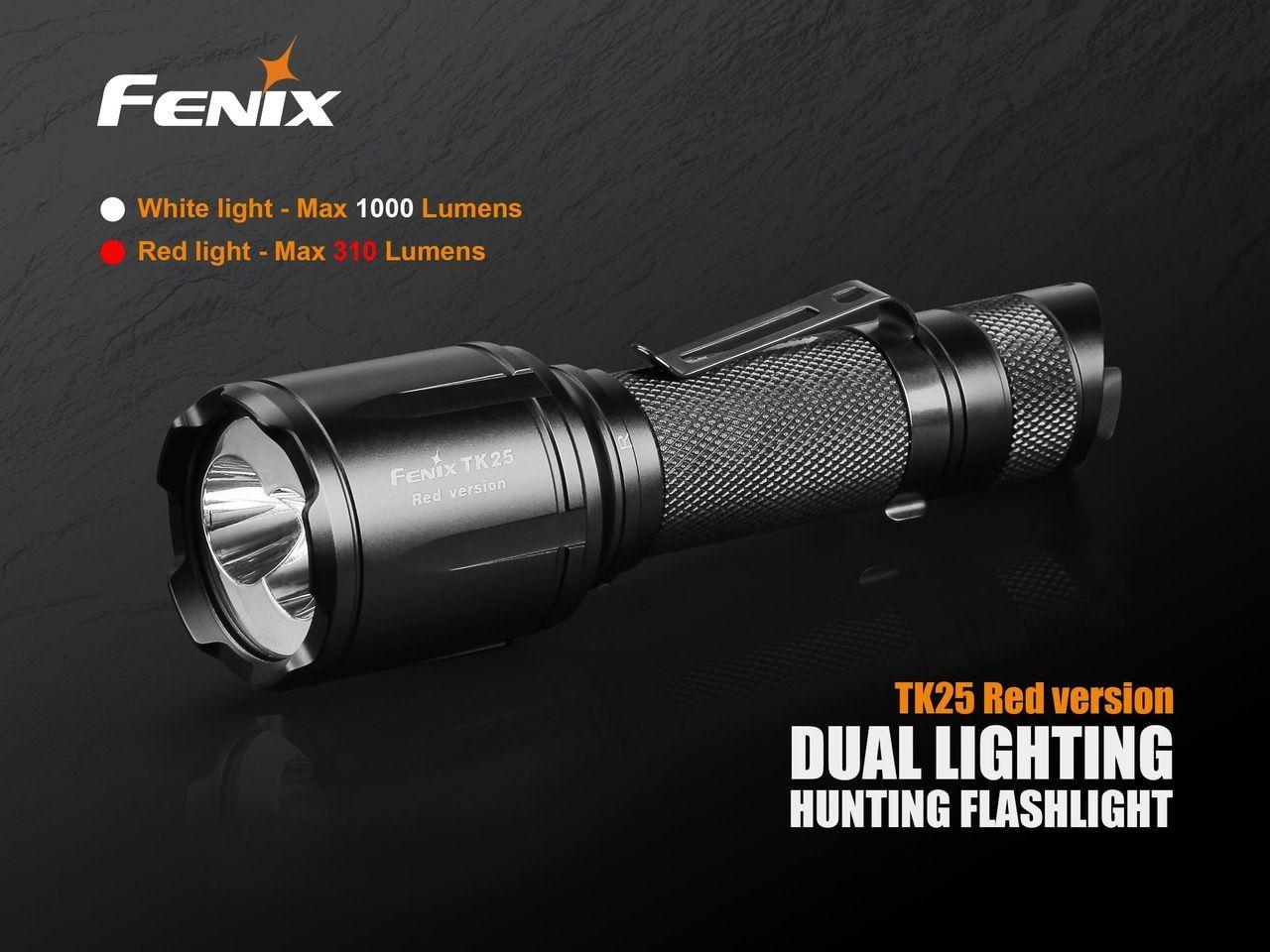 Lanterna Fenix TK25 Red - 1000 Lumens