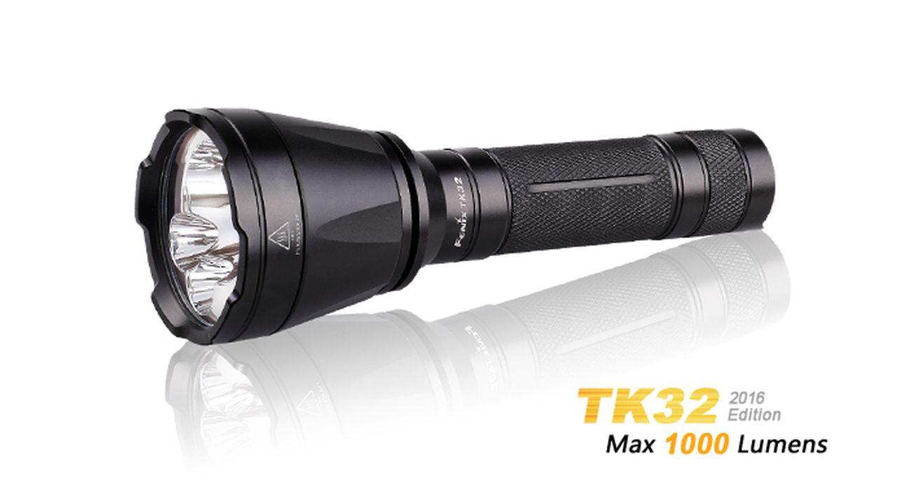 Lanterna Fenix TK32 Preta 1000 Lumens