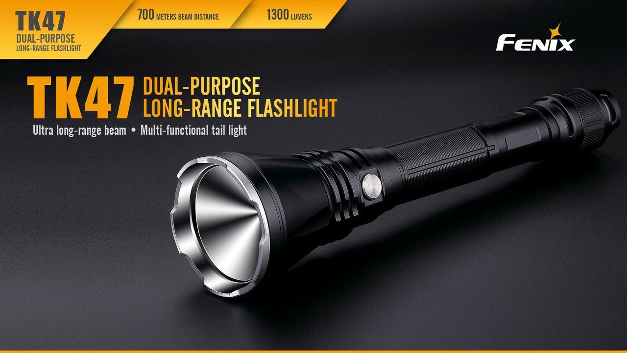 Lanterna Fenix TK47 - 1300 Lumens