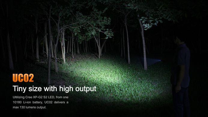 Lanterna Fenix UC02 Roxo 130 Lumens