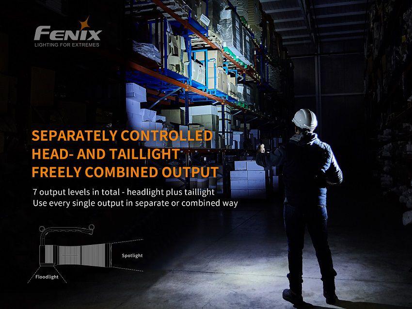 Lanterna Fenix WT50R - 3700 Lumens