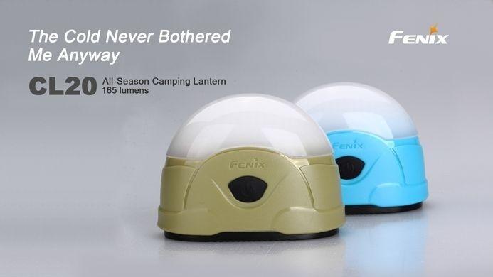 Lanterna FenixCL20 - Para Camping- 165 Lúmens