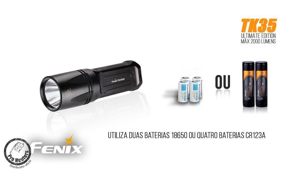 Lanterna FenixTK35 - Ultimate Edition - 2000 Lumens