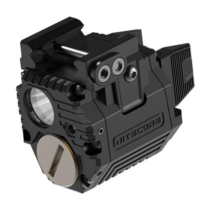 Lanterna NPL10 Nitecore para pistola - 300 lúmens