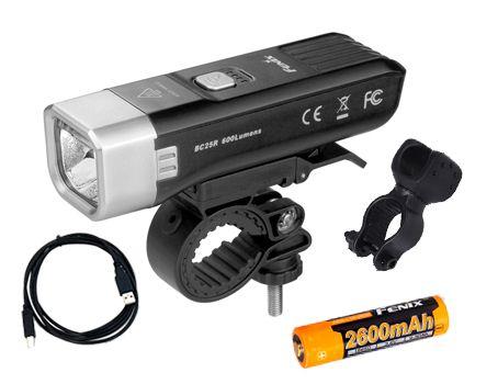 Lanterna para Bike BC25R - 600 Lumens