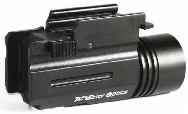 Lanterna para Pistola - 200 Lumens - Tac Vector Optics