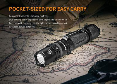 Lanterna Recarregável Fenix C6 V2.0 - 900 Lumens