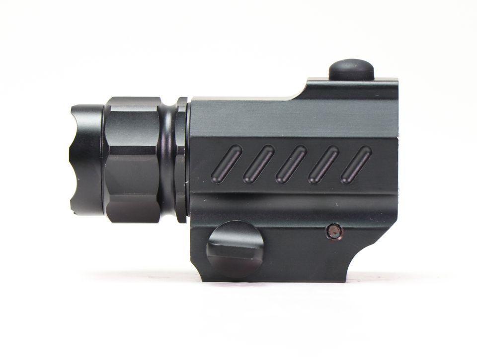 Lanterna Para Pistola Trustfire Com Bateria  - Trilho Picatinny - TFG02 - 320 Lumens