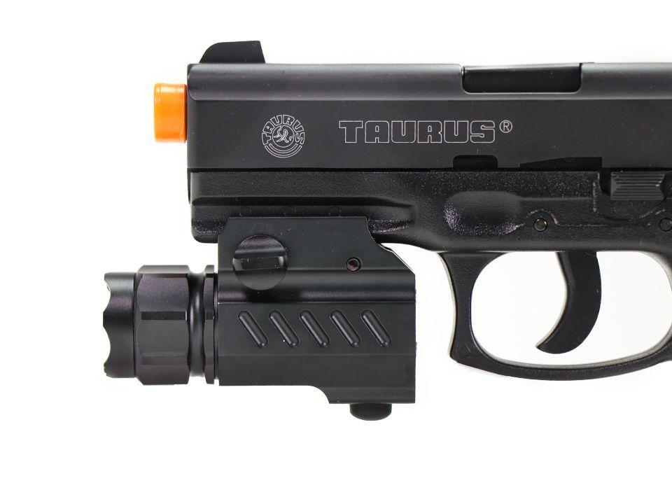 Lanterna Trustfire Com Bateria Para Pistola - Trilho Picatinny - TFG02 - 320 Lumens