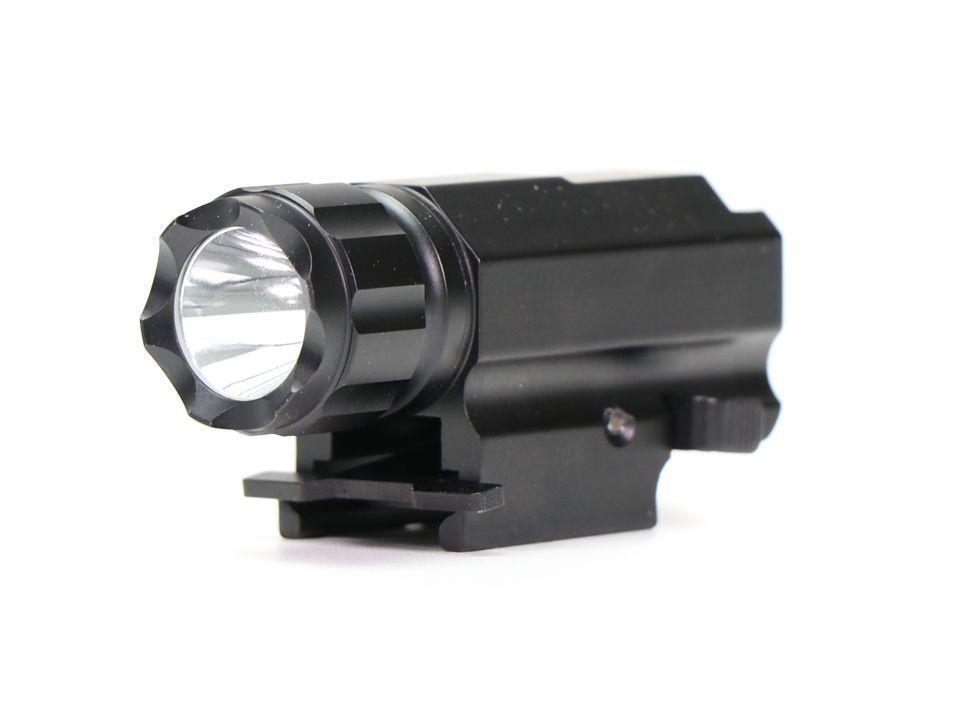 Lanterna Trustfire Com Bateria Para Pistola - Trilho Picatinny- TFP10- 320 Lumens
