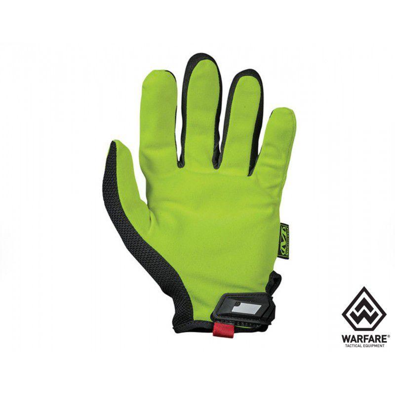 Luva Mechanix Original Safety G - Amarelo