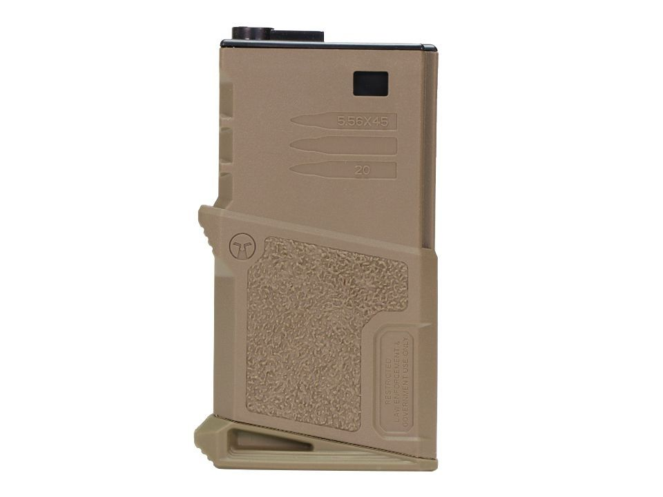 Magazine Ares Midcap - 120 BBS - Tan - Mini Mags For M4/ M16