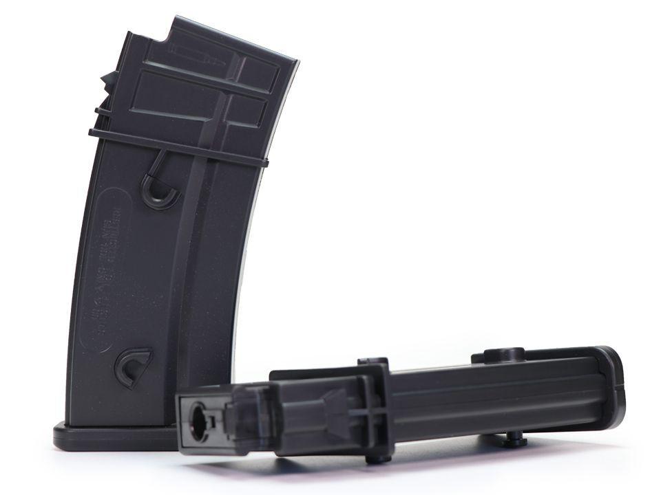 Magazine Para Airsoft - Ares - Modelo G36 - 140 BBs - Black
