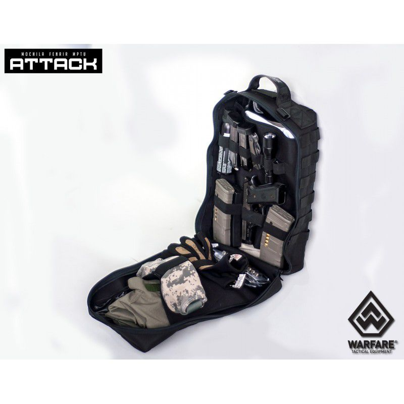 Mochila Tática Fenrir Attack MPTU - Desert