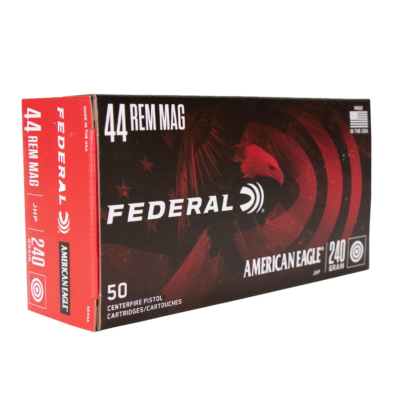 Munição Federal .44REM MAG JHP