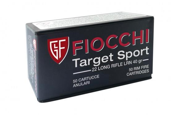 Munição Fiocchi .22LR Target Sport