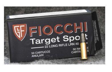 Munição Fiocchi 22 LR Target Sport 40gr (VENDA SOB CONSULTA NO WHATSAPP)