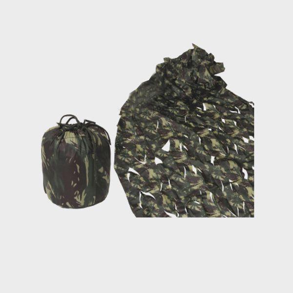 Negaça Camuflada de Nylon (1,35m x 4,00m)