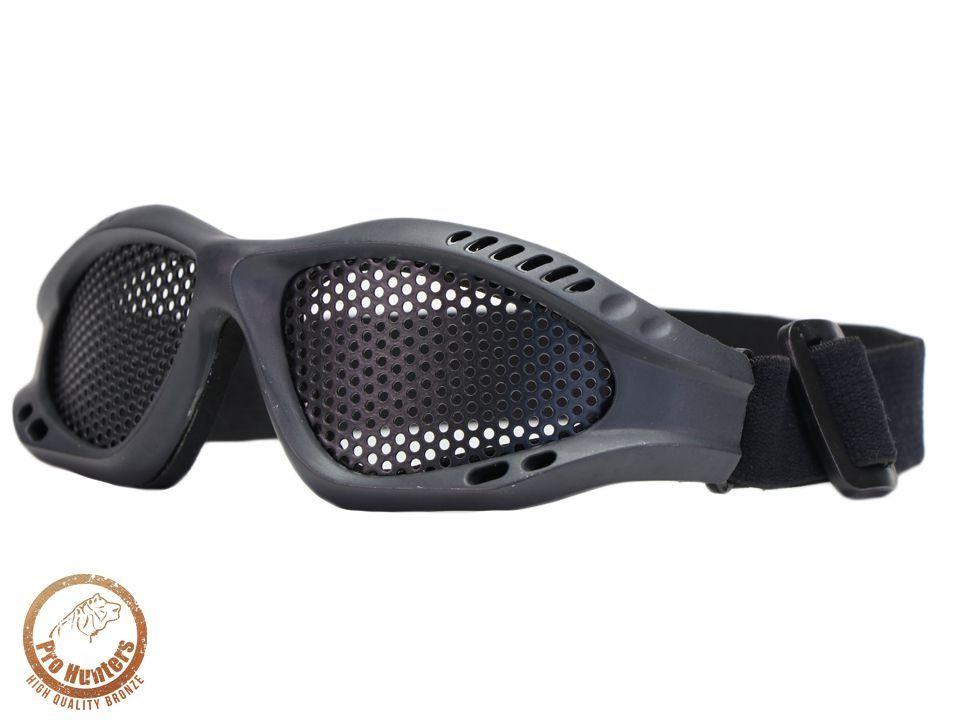 Óculos De Proteção - Malha Metálica - Black - Pro Hunters 0b572f924c