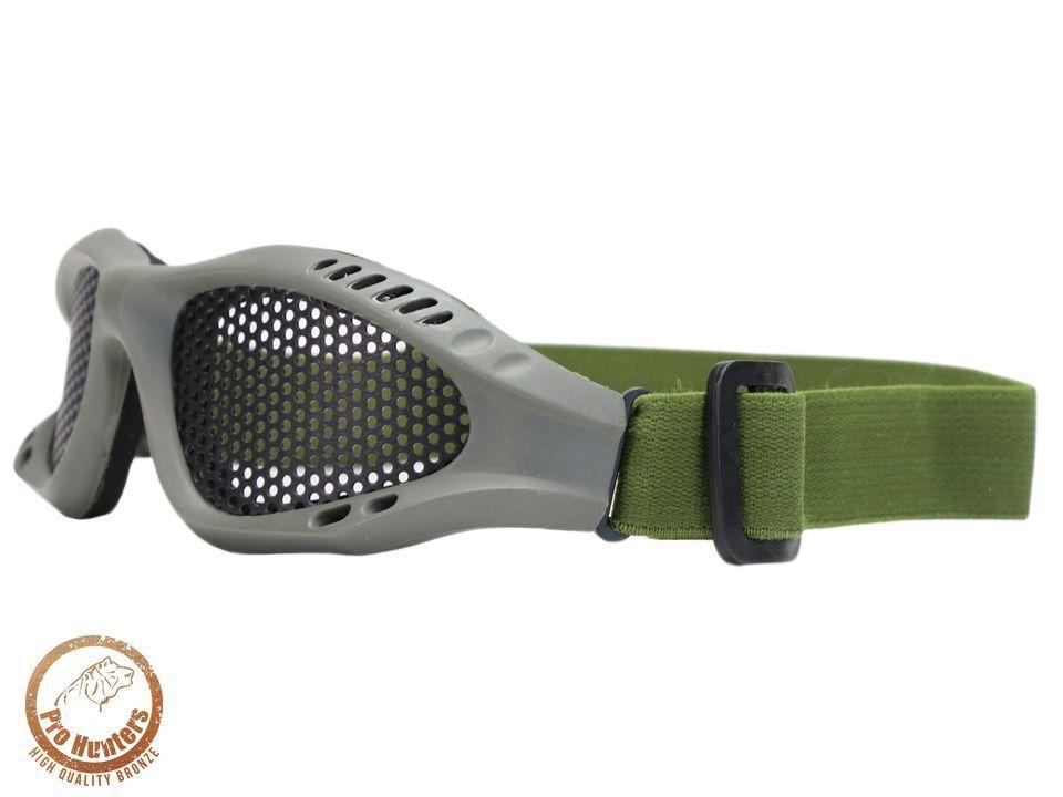 Óculos De Proteção - Malha Metálica - Olive Drab