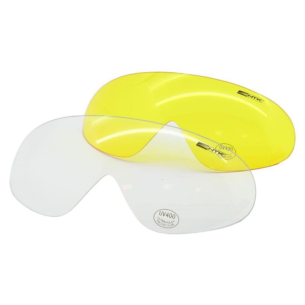 Óculos Luni NTK Tático 3 Lentes - Preto
