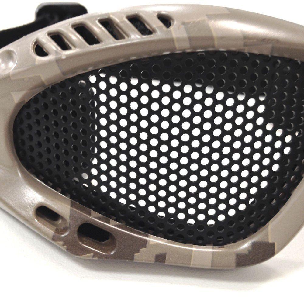 ... Óculos Para Airsoft Telado Kobra NTK Tático - Camuflado - Pro Hunters  ... 90dff123fa