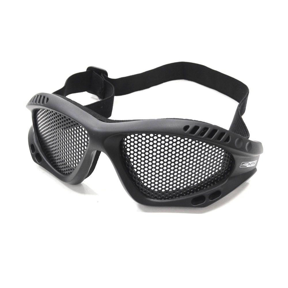 Óculos Para Airsoft Telado Kobra NTK Tático - Preto