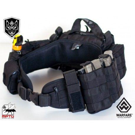 Cinto Fenrir Black M -  Warfare