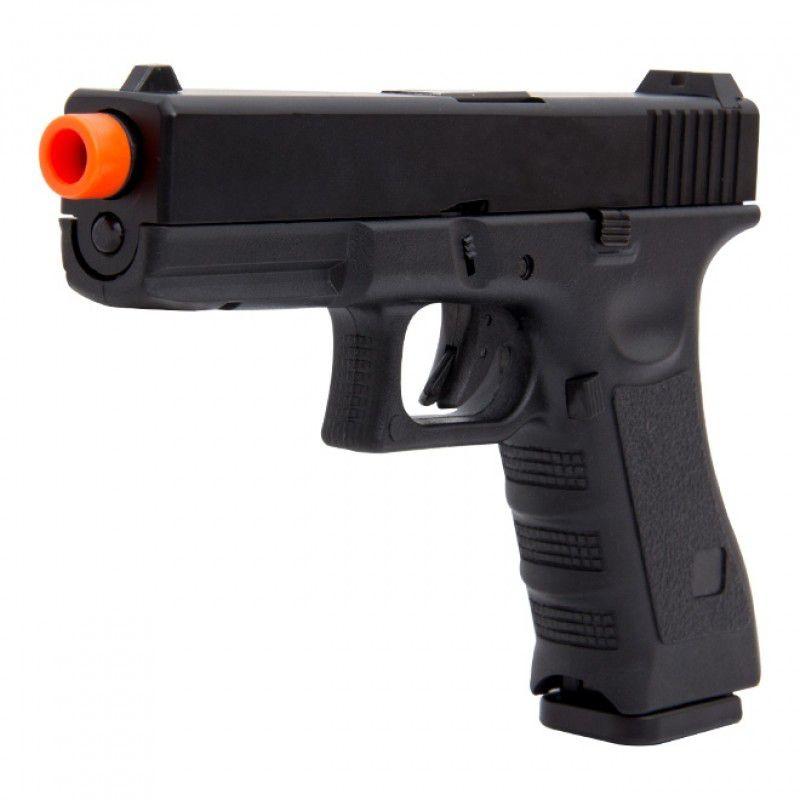 Pistola Airsoft - Glock Double Bell G17 763 Preta- GBB