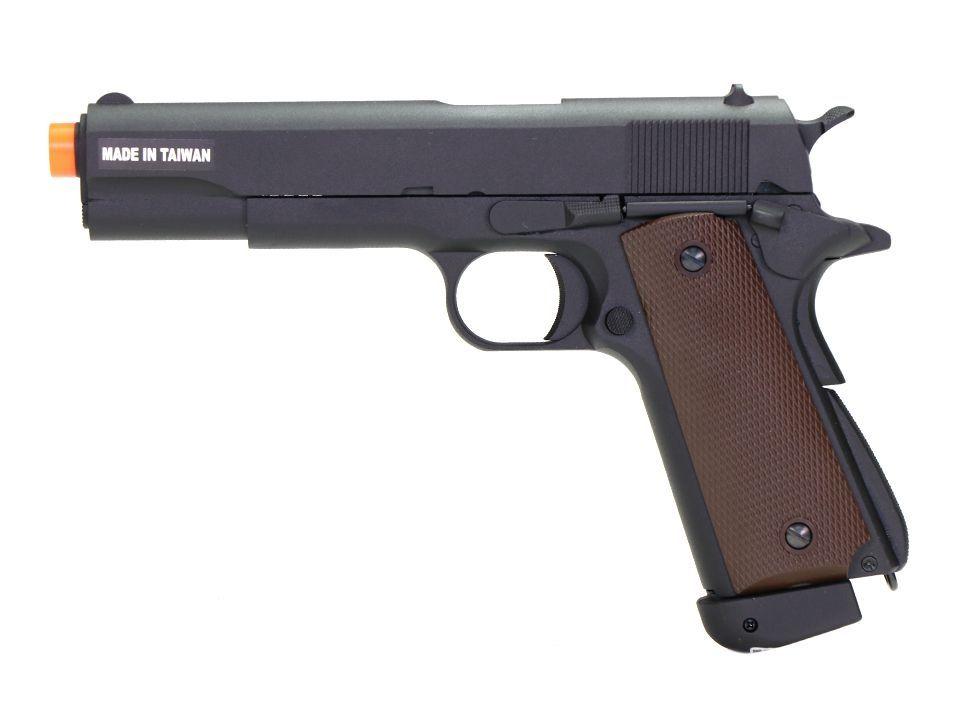 Pistola Airsoft - Kjw - KJ Works - 1911 A1 - GBB - Co2 Full Metal