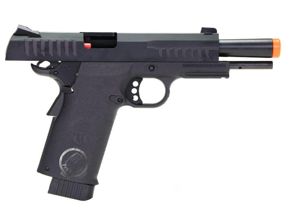 Pistola Airsoft - Kjw- KJ Works - Colt 1911 KP08 - GBB - Co2 Full Metal