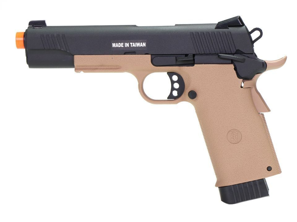 Pistola Airsoft - Kjw - KJ Works - Colt KP11 Tan - GBB - Co2