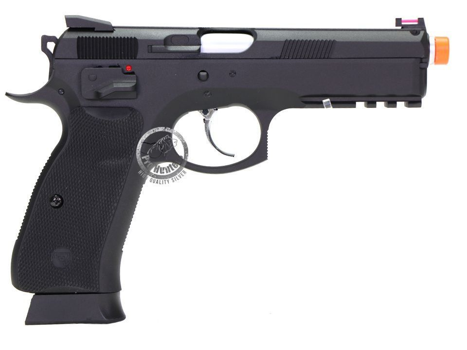 Pistola Airsoft - Kjw - KJ Works - CZ SP-01 Shadow - GBB - Co2 Full Metal