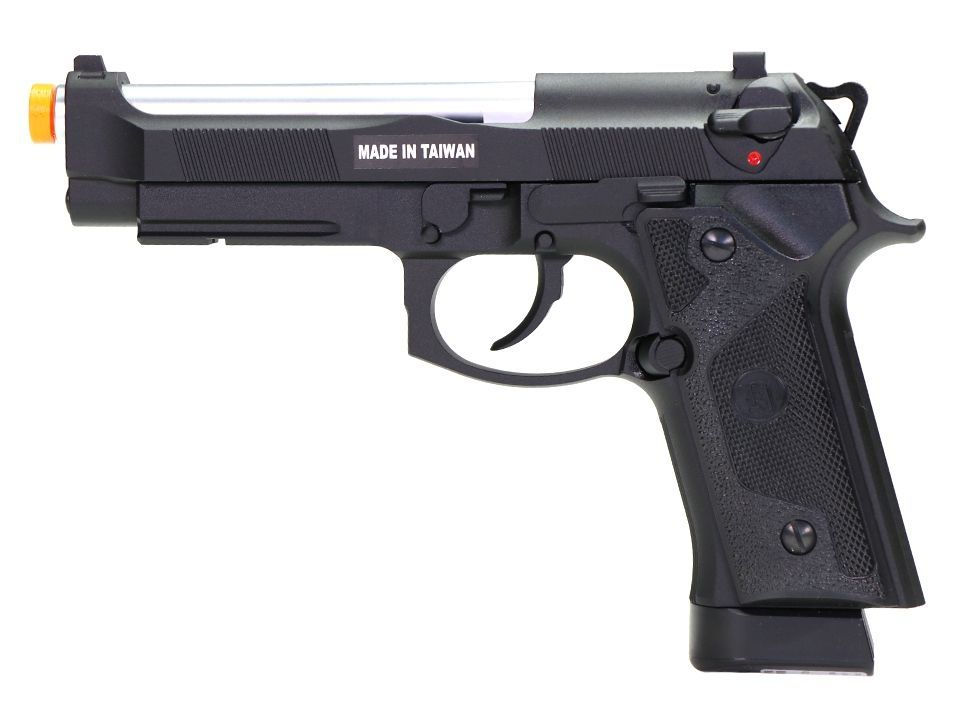 Pistola Airsoft - Kjw - KJ Works - IA- Beretta M92 - GBB - Co2